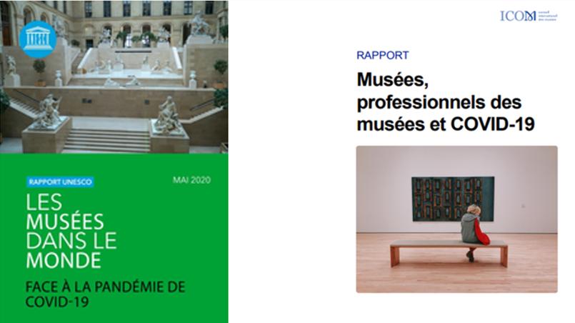 Une synthèse des rapports de l'UNESCO et de l'ICOM sur les musées dans le monde face au COVID-19.